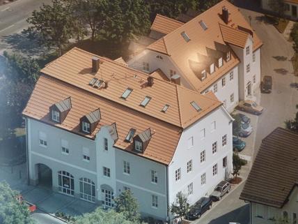Luftbild Büroetage in zentraler Lage in Aschheim bei München - Teilung möglich