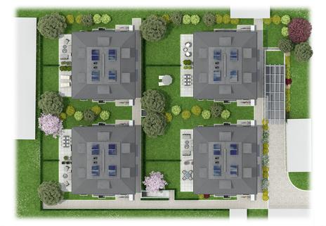Top View Neubau! Doppelhaushälfte in ruhiger Lage von Bogenhausen-Denning!