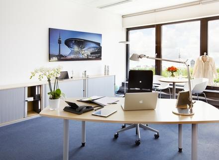 Einzelbüro Repräsentatives Bürogebäude in der Leopoldstraße, Büroflächen teilbar ab 14 m²