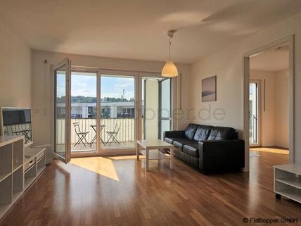 Bild 1 FLATHOPPER.de - Moderne 3-Zimmer-Neubauwohnung mit Balkon und Stellplatz in Freising bei München