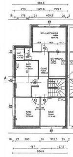 Plan Obergeschoß Doppelhaushälfte Gunskirchen Sofort beziehbar Doppelhaushälfte neuwertig mit Pool und Garage
