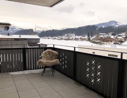Richtung Kitzbühel NEUBAU Eigentumswohnung - 3 Zimmer mit KAISERBLICK
