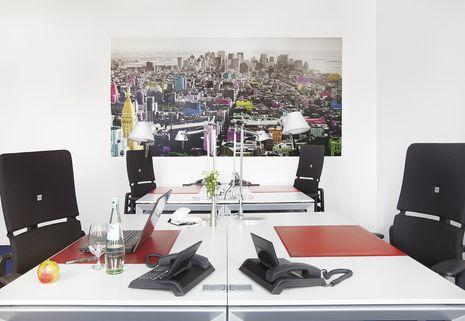 Teambüro 4 Personen Repräsentative Immobilie und voll ausgestattete Büros mit Service