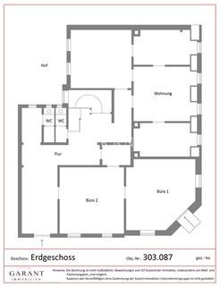 ho5 -EG-/Büro Teil 2 Gepflegtes Mehrfamilienhaus mit 8 Wohneinheiten in zentraler Lage in Ölsnitz-/Vogtland !