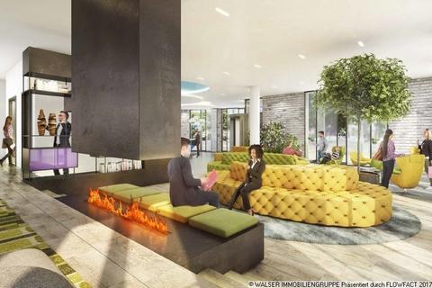Lobby Attraktiv auch in der Rendite: Innovatives und lukratives Serviced-Apartment in begehrter Citylage