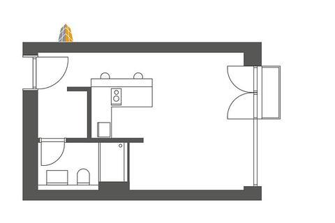 Bild 9 FLATHOPPER.de - Hochwertige 1-Zimmer-Wohnung mit Balkon in Berlin-Kreuzberg