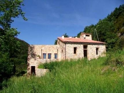 Bo1110_mvc-001f.jpg Very charming Catalan stone Mas, exceptional setting, views over the v