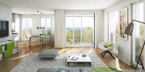 Beispielwohnung Traumhafte 2-Zimmer-Wohnung mit Westausrichtung im 5. OG – Erleben Sie Großzügigkeit!