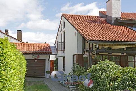 1718RG Möbliert auf Zeit - Großzügige Doppelhaushälfte in ruhiger & schöner Wohnlage Krailling