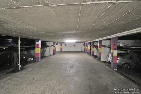 Tiefgarage HEGERICH: Duplex-Tiefgaragen-Stellplatz in Schwabing