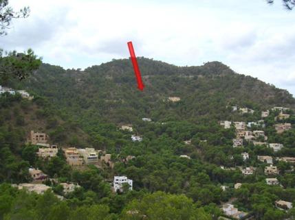 Lage Grundstück Mallorca, Costa Canyamel, Baugrundstück mit Traumblick auf die Bucht