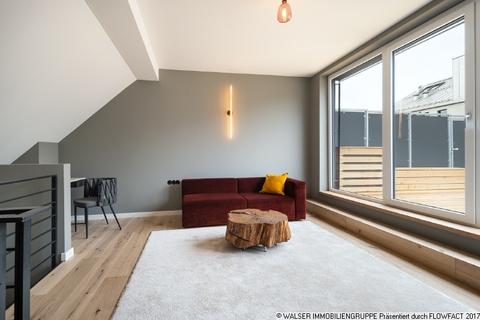 Wohnbereich Dachterrassen-Wohnung mit extravaganter Ausstattung in optimaler Lage