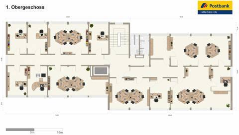 1. Obergeschoss Ab € 6,50 €/m² - Der Standort ist Entscheidend