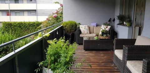 Stilvolle 4 Zimmer  Wohninspiration mit Sonnenterrasse