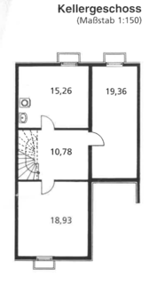 Keller Familienfreundliches Reihenmittelhaus in schöner, ruhiger Lage Ottobrunn/Riemerling