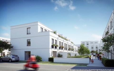 Außenansicht Blick von der anderen Straßenseite Den persönlichen Anspruch verwirklichen: Atelierhaus mit riesiger Dachterrasse und tollem Garten