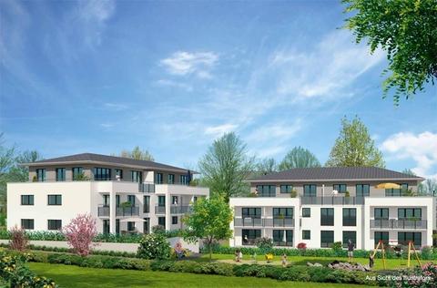 Wohnanlage Illustration Premium 3 Zi. DG-Wohnung mit ca. 109m² Wfl, grosser Dachterrasse und 2x TG-Platz. Nur 2 Min. zur A9.