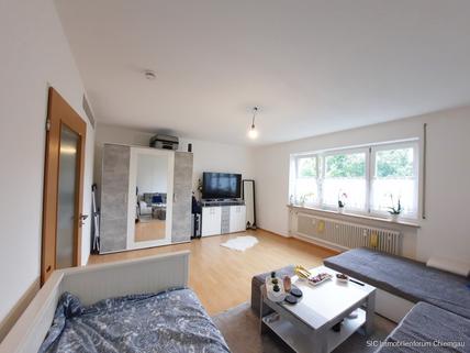 Wohn-/ Ess- & Schlafbereich Kapitalanlage! Sonnig gelegene 1 Zimmer-Wohnung mit EBK in Traunstein!