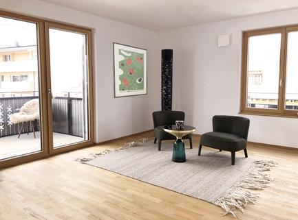 Wohnen Top 13 NEUBAU Eigentumswohnung - 3 Zimmer mit KAISERBLICK