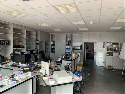 Büro/Annahme Werkstattgebäude Ideale Kombination aus Gewerbe und Wohnen