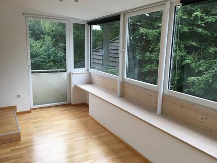 Arbeitszimmer bzw. SZ München Harlaching - Traumwohnung mit Dachterrasse und Garten