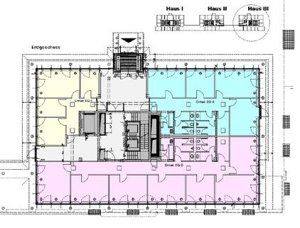 Grundriss EG Haus 3 Attraktives Büro am Hirschgarten