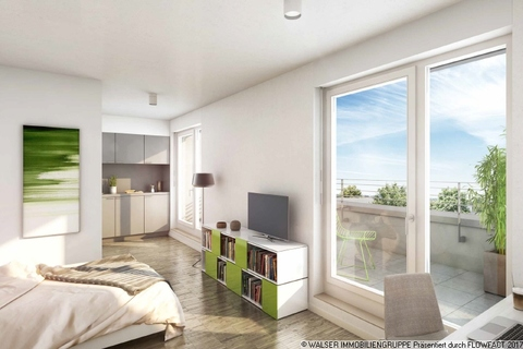 Beispielapartment Dachterrassen-Studentenapartments in Pasing - Perfekt für Kapitalanlage und Mieter