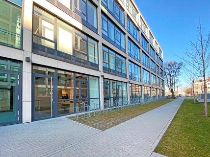 Fahrradstellplätze Repräsentative Büroflächen mit modernster Ausstattung