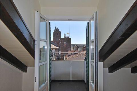 VIsta finestra Charmantes Penthouse mit eigenem Glockenturm