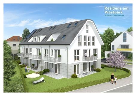 Bild 1 Im Rohbau! Schöne Erdgeschosswohnung im Projekt Residenz Westpark! Bezug 2019!