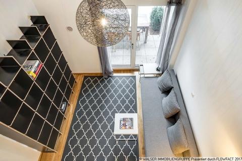 Blick von der Galerie WALSER: Einzigartige Gelegenheit - Möbliertes Galerie-Apartment für Studenten - zum Sofort-Bezug!