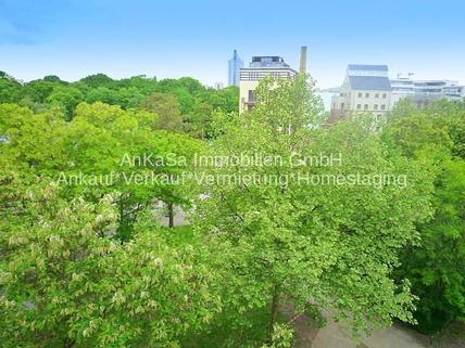 Ausblick AnKaSa Immobilien*TIPP: Modern möbliertes Cityappartment, EBK, schickes Bad im Stadtzentrum Leipzig!