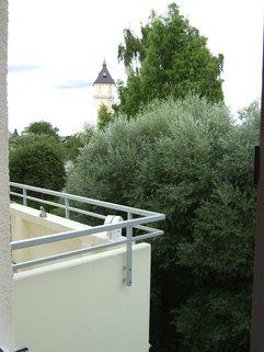 Balkon BITTE NUR SCHRIFTLICHE ANFRAGEN MIT ANGABE ZUR PERSON! - 3-Zimmer-Whg. in Ismaning mit Westbalkon zu vermieten