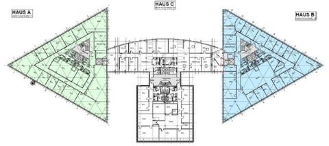 Grundriss 1 OG Repräsentativ und umgeben von viel Grün