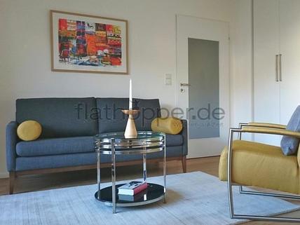 Bild 1 FLATHOPPER.de - Hochwertiges Apartment mit Balkon - auch für Homeoffice - in Schwabing - Freimann
