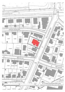 Lageplan Erstbezug - Attraktive Erdgeschosswohnung mit Südausrichtung