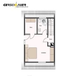 Dachgeschoss Doppelhaushälfte in Waldtrudering
