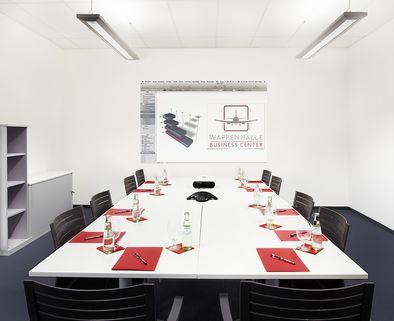 Konferenzraum Repräsentative Immobilie und voll ausgestattete Büros mit Service