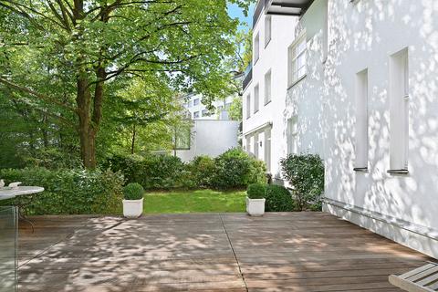 Terrasse Herrschaftliche Maisonette-Wohnung mit Garten