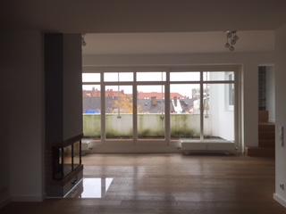 Wohnen und Terrasse Glockenbachviertel: 3 Zimmer Dachterrassenwohnung mit Kamin zu vermieten