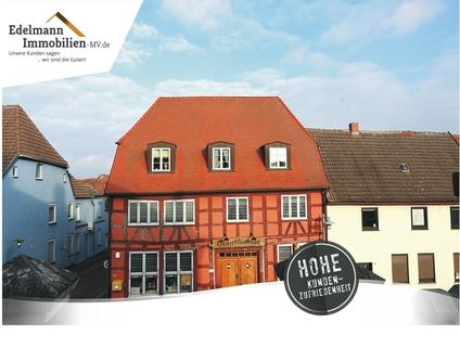 STARTBILD Kapitalanleger aufgepasst! Lukratives Wohn- und Geschäftshaus  im Zentrum der Warbelstadt Gnoien!