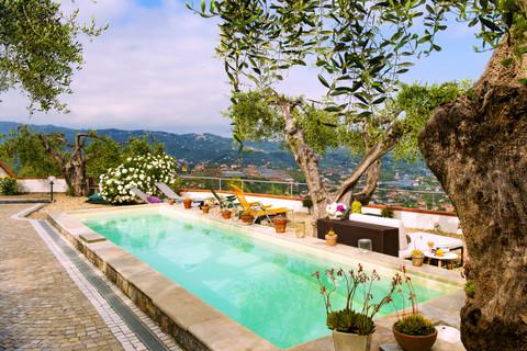 pool Villa mit Meerblick