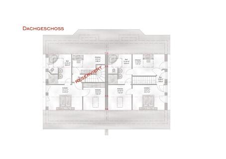 Das Dachgeschoss Verkauft: Sehr große und modern geplante Doppelhaushälfte in OTTOBRUNN