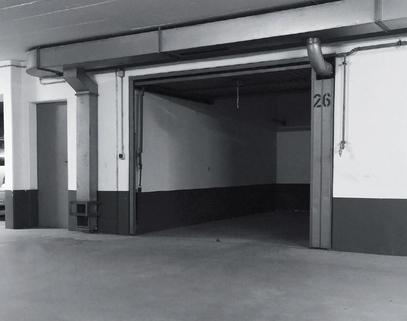 Innenansicht AIGNER - Abschließbare Einzelgarage in Bestlage Bogenhausen