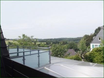 Blick vom Balkon AbacO: TOP-Apartment mit allem was dazu gehört!