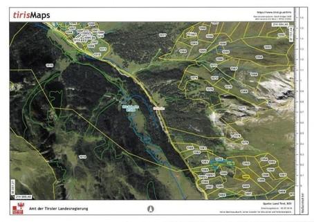 Kataster Geschlossener Hof eine Tiroler Rarität