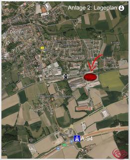 Anlage 2_Lageplan Timber Business Center - Ihr modulares Büro in Holz an der A94 und an der Bahn+++