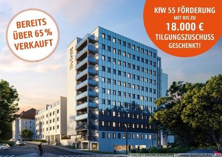 livinit Wuerzurg Ansicht 2 mit Infos-min TOP RENDITE *Investmentchance* Neubau-Studentenapartments mit KFW 55 Förderung und Tilgungszuschuss!