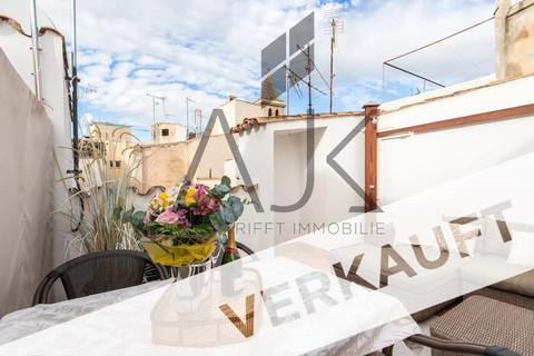 verkauft Trend Zweitwohnsitz: Charmantes Penthouse mit privater Dachterrasse in der Altstadt von Palma