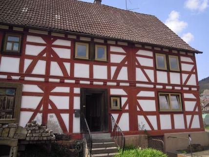 Außenansicht Ein Haus, das Geschichte erzählen kann